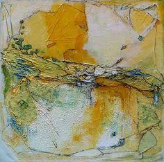 """Philippin, Inge, """"The Well 1"""" (11) Mit einem Klick auf 'Als Kunstkarte versenden' versenden Sie kostenlos dieses Werk Ihren Freunden und Bekannten. (Mix Paint)"""