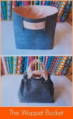 The Woppet Bucket - Sew and Sell