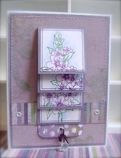 FREE TUTORIAL! Will Run for Stamps: Waterfall Card *Heartfelt Creations*
