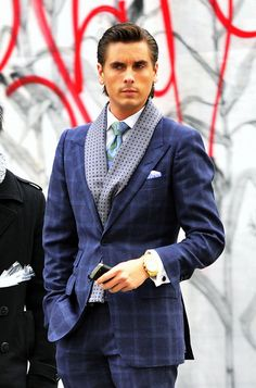 Scott Disick - Douchebag?  Yes.  American Psycho?  Possibly.  Impeccable?  Always. <3