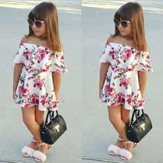 Top 5 Must Have Toddler Fashion Pieces For Summer Cute Little Girls Outfits, Kids Outfits Girls, Little Girl Fashion, Little Girl Dresses, Toddler Fashion, Fashion Kids, Girls Dresses, Trendy Fashion, Outfits Niños