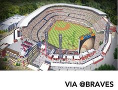 First look at SunTrust Park, future home of the Atlanta Braves