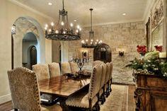 40 Mediterranean Dining Room Design