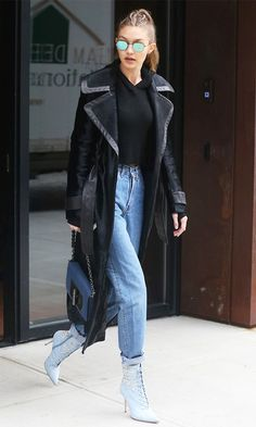 Gigi Hadid recently wore a pair of jeans that are an updated version of boyfriend jeans. Are you on board? Find out here.
