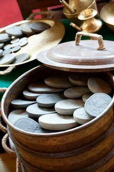 Traditional Himalayan healing hot stone massage. Serenity spa's most popular treatment