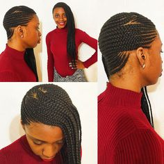 Feeding Cornrows for my client. by StyleSeat Pro, Darlynda George | London's Beautii in Bowie, MD