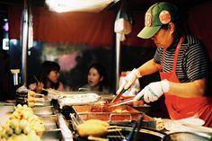Korea, Seoul, Street Food, Film, Pentax P30T, Asia, Travel.