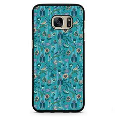 Owls Birds insects Pattern Samsung Phonecase For Samsung Galaxy S3 Samsung Galaxy S4 Samsung Galaxy S5 Samsung Galaxy S6 Samsung Galaxy S7