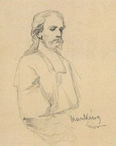 Munkácsy Mihály (1844-1900) - Vázlat Krisztus Pilátus előtt című képhez Artist Painting, Art History, Graphic Art, Spirituality, Fine Art, Drawings, Paintings, Artists, Brown