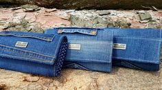 Jeansové peněženky velké. Rada.vytvarky@seznam.cz