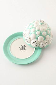 Brassica Butter Dish