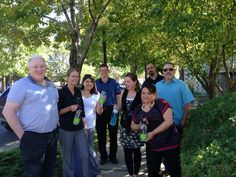 Our IT & Accounting Departments rallied together for a lunchtime walk for the Miracle Marathon
