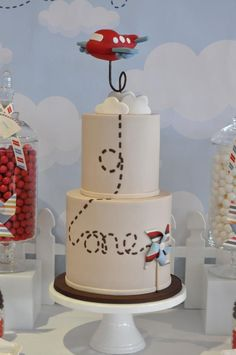 Up, up and away. - Possible 1st Birthday cake for Huddy?