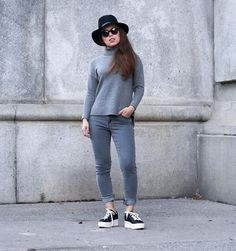 Street chic in our Detroit jeans