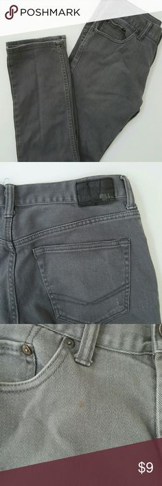 Men's Bullhead Skinny Dillon Jeans Well loved skinny jeans. Signs of wear and wash. Small light stain on front pocket. Lots of life still left in these jeans! 31x30 Bullhead Jeans Skinny