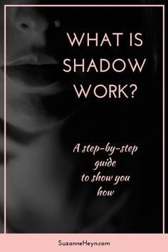 Witchcraft, Magick & Shadow Work: Click through for a step-by-step guide to doing shadow work.