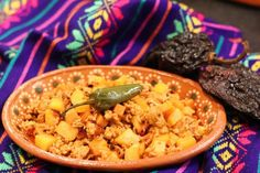 Mexican Picadillo - a traditional ground meat dish - Mex Mundo #picadillo #mexicandishes
