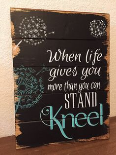 My home decor wood signs, quotes and bible verses are carefully constructed, entirely hand-painted and hand-lettered (no vinyl), and stained in my