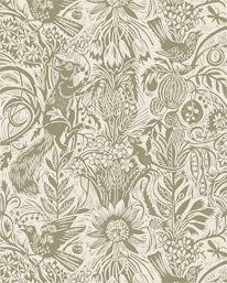 Squirrel & Sunflower Green Sedge fra St. Judes