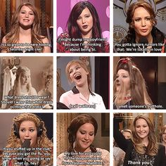 Jen on SNL - why haven't I seen this??