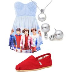 "I probably wouldn't wear this, but I want it just so I can be like, ""yeah I have a one direction dress!"" lol!!"