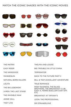 From Marchon Eyewear blog: Test your iconic eyewear knowledge.