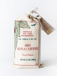 Best KONA coffee // Wings of the Morning Kona Coffee
