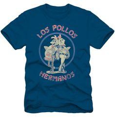 Los Pollos Hermanos Navy T-Shirt