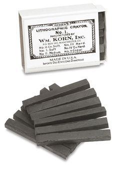Lithographic Crayons - for kitchen lithography