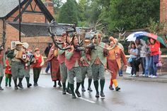 Abbots Bromley Horn Dance '10 - 28   Flickr - Photo Sharing!