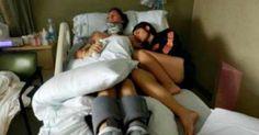 Se niega a desconectar a su marido 3 años después se despertó y dijo tres palabras