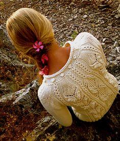 Ravelry: Audrey cardigan pattern by Veronika Lindberg Lace Knitting Stitches, Knitting Patterns, Garnstudio Drops, Knit Crochet, Crochet Hats, Cute Cardigans, Sweaters, How To Purl Knit, Cardigan Pattern