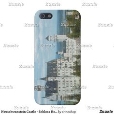 Neuschwanstein Castle - Schloss Neuschwanstein iPhone Case Iphone 6 Cases, 5s Cases, Iphone Se, Germany Castles, Neuschwanstein Castle, Plastic Case, Your Design, Personalized Gifts, Stones