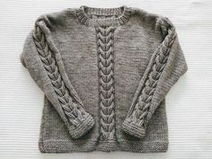 Un hermoso suéter, tutorial gratis. – TEJIDOS KIRIKIRI Knit Fashion, Men Sweater, Knitting, Sweaters, Grande, Braids With Weave, Fabrics, Beanies, Organized Linen Closets