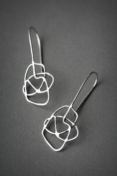 Medium Contour Earrings - Shape A from My Sunset Road