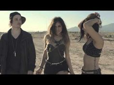 Krewella- Alive.... Love this song. :) Though.... they could wear better clothing... looking a little skanky there.