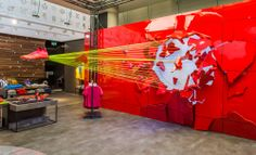 NIKE Retail Interior | Mercurial, 2014 | Niketown London | by Millington Associates