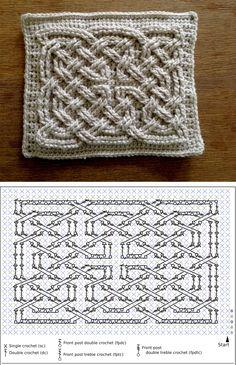 Crochetcetera e tal: Ponto com efeito 3D!