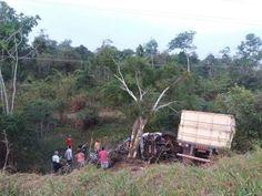 BR-364; grave acidente deixa 7 mortos , cinco da mesma família
