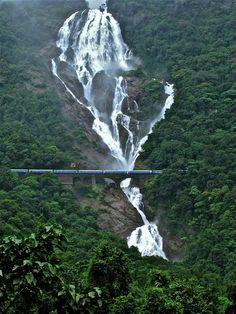 Dudhsagar Falls (Sea of Milk) GoaBy Rajesh Warange