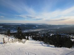 Skiing, Trysil, Norway