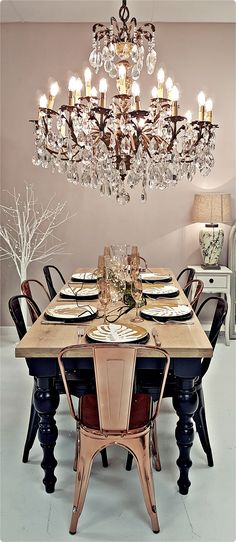Annabelle Decor Online Shop, chandeliers and lighting, dining room decor, dining chairs, dining table Dining Chairs, Dining Room, Dining Table, Modern Decor, Modern Furniture, Chandelier Shades, Home Decor Shops, Chandeliers, Room Decor