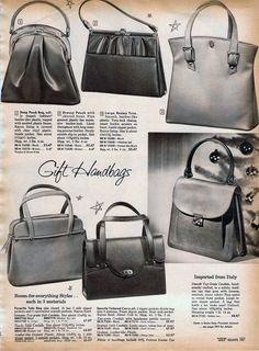 1950s Purses & Handbags: Styles, Trends & Pictures