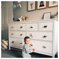 Boy Toddler Bedroom, Baby Bedroom, Baby Boy Rooms, Kids Bedroom, Childrens Bedrooms Boys, Bedroom Decor, Ikea Toddler Room, Small Baby Rooms, Small Nurseries