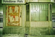 Potsdamer Platz, 1989 Berlins Unterwelt: Vergessene Geisterbahnhöfe der DDR - SPIEGEL ONLINE