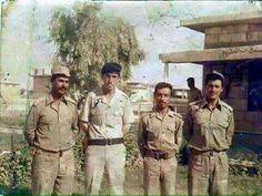 كاظم الساهر اثناء الخدمة الالزامية1982