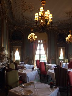 The French dining room at Cliveden House