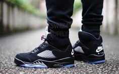 Jordan 5 black metallic OG