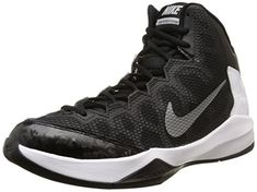 sports shoes 6b00c 2c6b4 Nike Mens Zoom Without A Doubt Black Mtllc Slvr Flt Slvr Chrm Basketball  Shoe 7 Men US