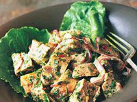 Pork with Mustard Lime Vinaigrette Recipe - Quick From Scratch Soups & Salads | Food & Wine